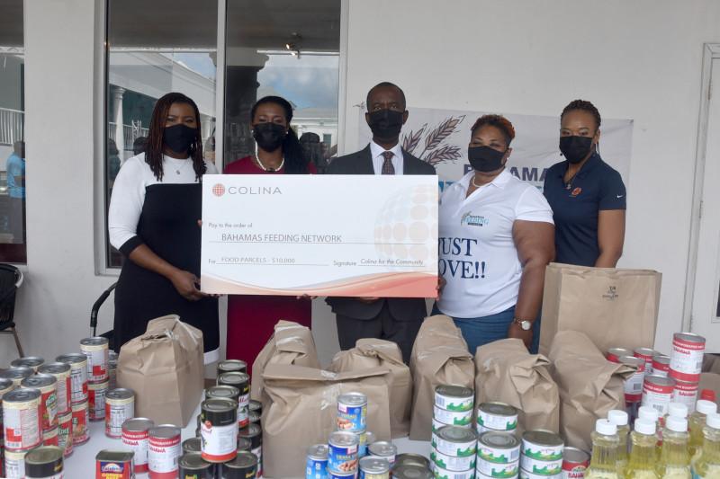 Insurer Contributes $10k Towards Food Parcels